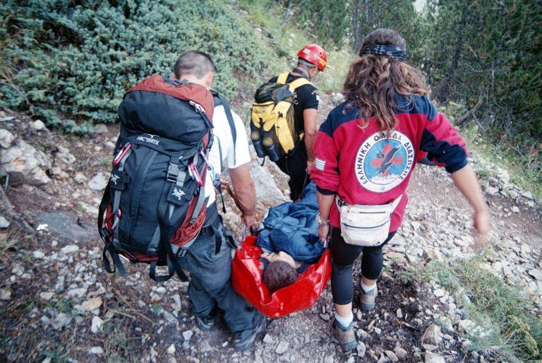 Τραυματίστηκε 18χρονος ορειβάτης στον Όλυμπο | tovima.gr
