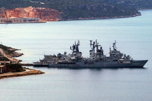 Charges of fuel trafficking at Souda US naval base | tovima.gr