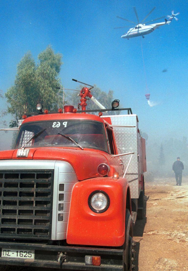 Υπό έλεγχο πυρκαγιά που εκδηλώθηκε στο Σέσι Γραμματικού | tovima.gr