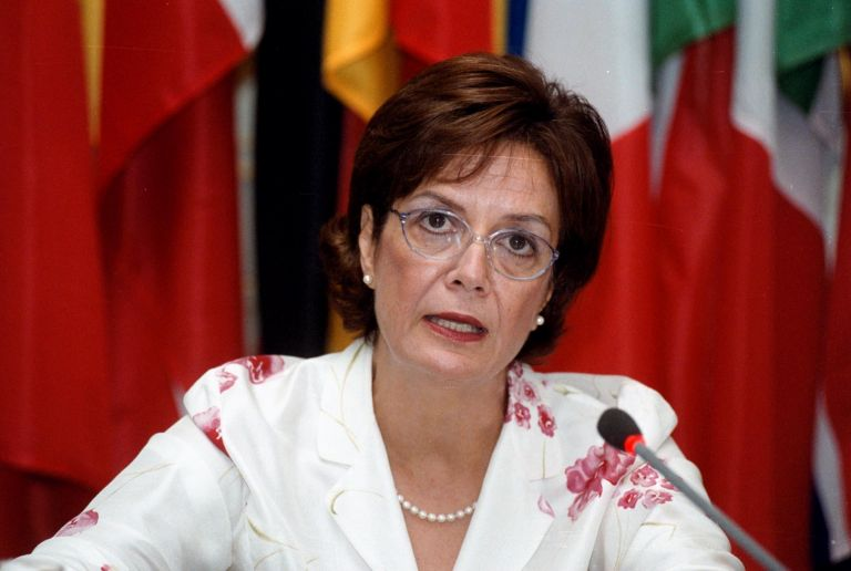 Η νέα υπουργός Πολιτισμού Μυρσίνη Ζορμπά | tovima.gr