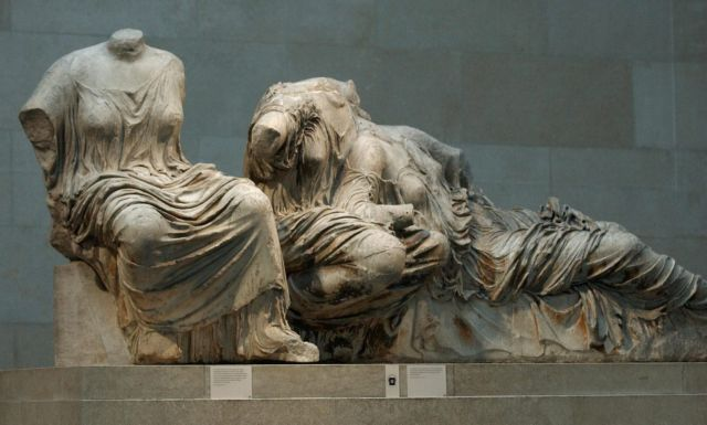 """National Gallery considers the """"sharing"""" of the Parthenon Marbles   tovima.gr"""