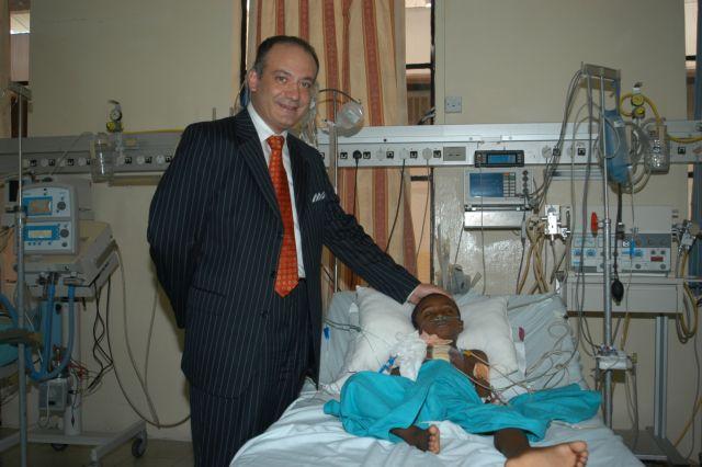 Αυξέντιος Καλαγκός: Μεγάλη καρδιά για άπορα παιδιά | tovima.gr