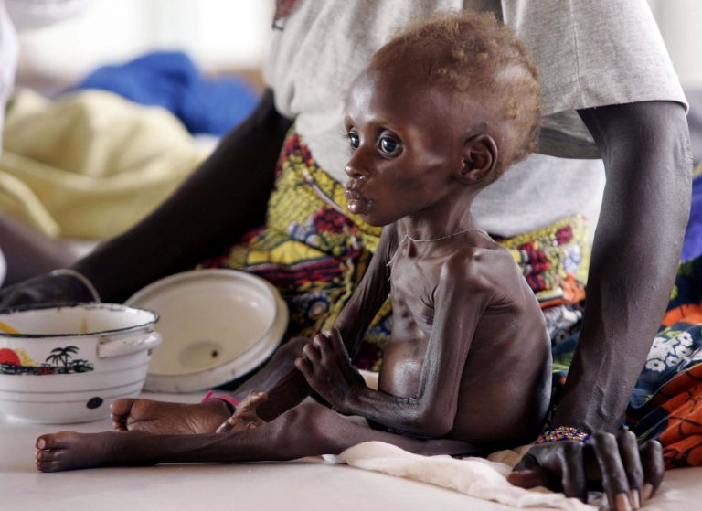Υψηλός ο αριθμός υποσιτισμένων παιδιών σε Αφρική και Ασία | tovima.gr