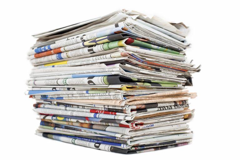 Μείωση της κυκλοφορίας των εφημερίδων σε ολόκληρο στον κόσμο | tovima.gr