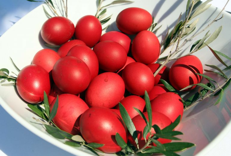 Βαμμένα κόκκινα αυγά… εδώ και 2.500 χρόνια | tovima.gr