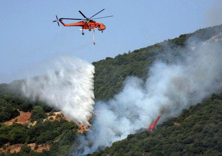 Σε εξέλιξη η φωτιά που ξέσπασε τη Δευτέρα στον Ολυμπο | tovima.gr