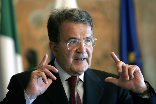 Prodi claims it is 'impossible' to expel Greece from the euro | tovima.gr