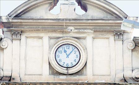 Ρολόι-μάρτυρας των 6,5 ρίχτερ του 1978 στη Θεσσαλονίκη | tovima.gr