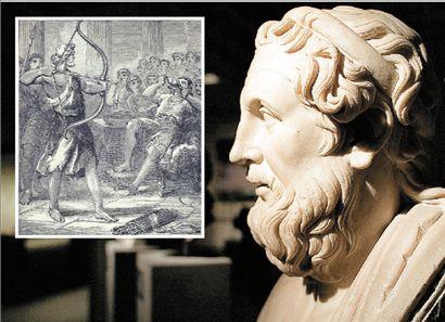 Στις 16 Απριλίου 1178 π.Χ.  ο Οδυσσέας εξόντωσε τους μνηστήρες | tovima.gr