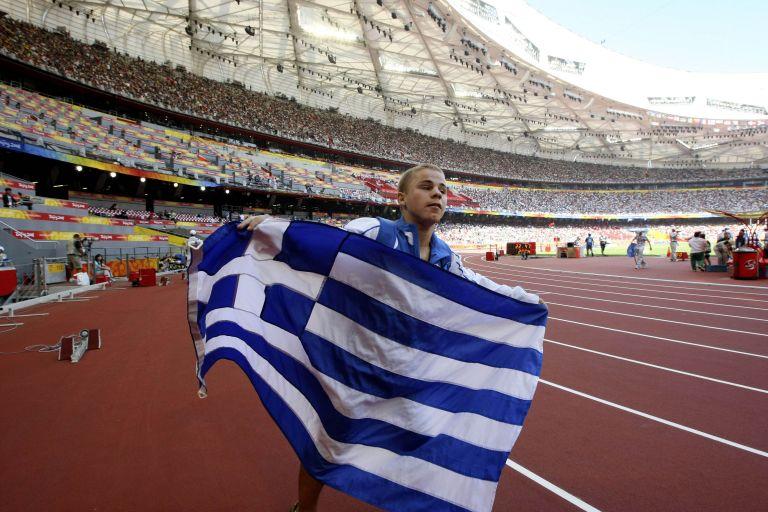 Ο Πασχάλης Σταθελάκος κατέκτησε χάλκινο μετάλιο στη σφαιροβολία | tovima.gr