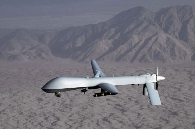 Athens considering US proposal for establishing drone base in Greece | tovima.gr