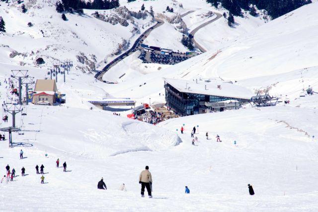 Ειδικό σήμα λειτουργίας στα Χιονοδρομικά Παρνασσού και Καϊμακτσαλάν | tovima.gr