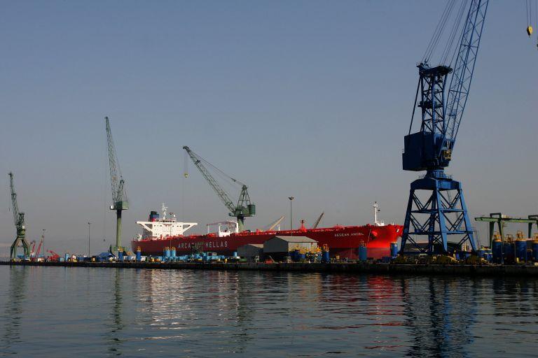 ΓΣΕΕ: Ζητεί άμεση οικονομική στήριξη για τα ναυπηγεία Σκαραμαγκά | tovima.gr