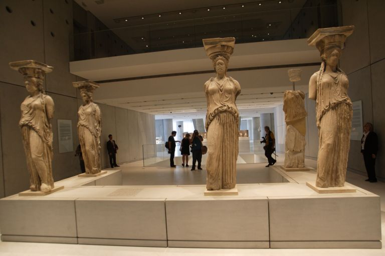 Βραβείο συντήρησης για τις Καρυάτιδες στο Μουσείο Ακρόπολης | tovima.gr