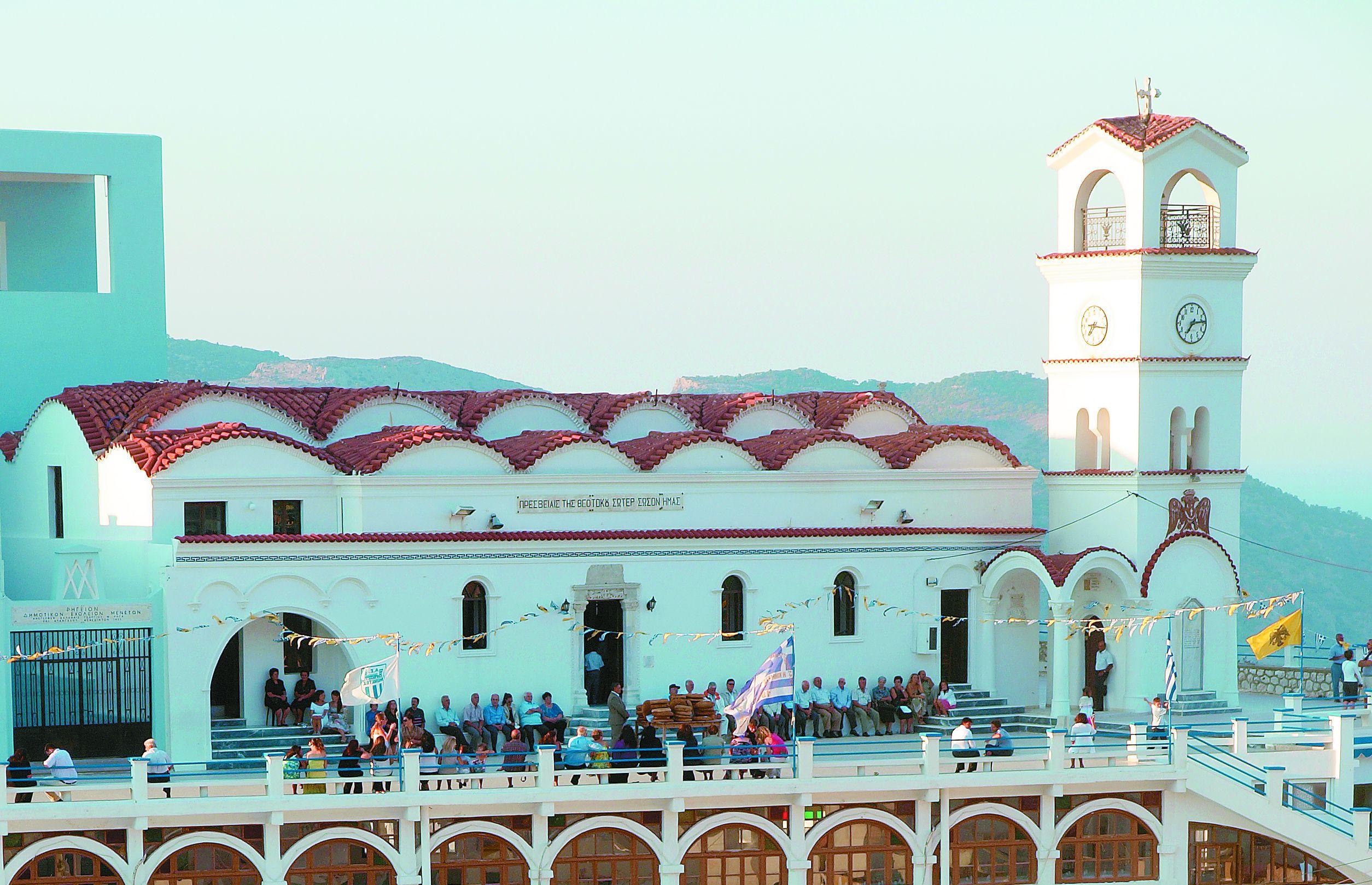 Αποτέλεσμα εικόνας για Η Παναγία της Ολύμπου Κάρπαθος-