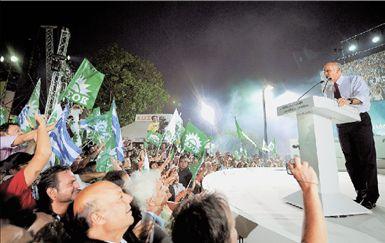 <b>Αέρας νίκης πνέει στο ΠαΣοΚ</b> Ο κ. Γ. Παπανδρέου προέβλεψε  κατάρρευση της ΝΔ και μίλησε  για νέο μοντέλο διακυβέρνησης | tovima.gr