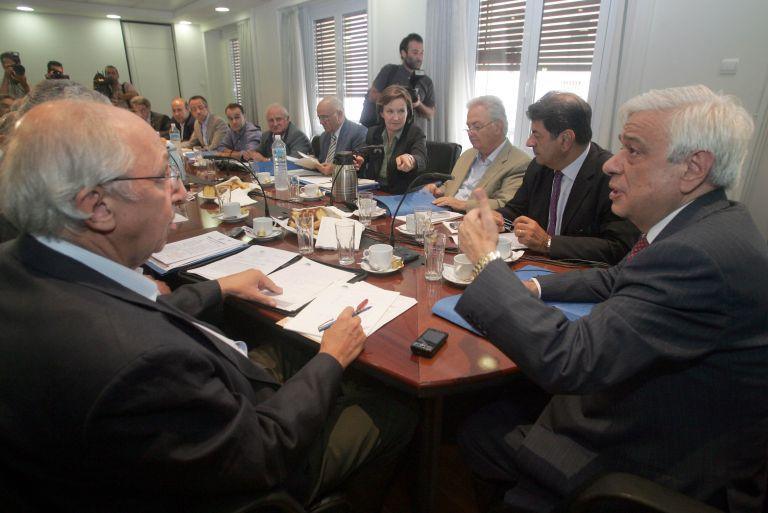<b>Ομόφωνες αποφάσεις</b>Εκλογικές δαπάνες και προβολή επί τάπητος στη Διακομματική | tovima.gr