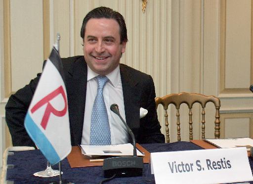 Xρυσό βραβείο επιχειρηματικής αριστείας στη ναυτιλιακή εταιρεία του Βίκτωρα Ρέστη | tovima.gr