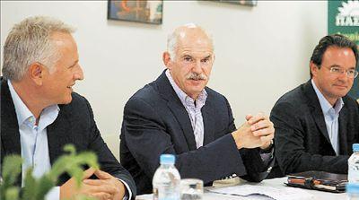 Πρόγευση για την επόμενη ημέρα  το Επικρατείας του ΠαΣοΚ | tovima.gr