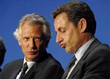 Ενώπιον της γαλλικής δικαιοσύνης ο πρώην πρωθυπουργός κ. Ντομινίκ ντε Βιλπέν | tovima.gr