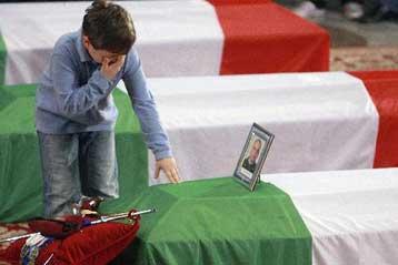 Η Ιταλία είπε αντίο στους στρατιώτες που έχασε στο μέτωπο του Αφγανιστάν   tovima.gr