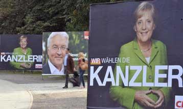 Δυνατότητα συνασπισμού χωρίς τους Σοσιαλδημοκράτες θα έχει η Μέρκελ, δείχνει γκάλοπ | tovima.gr