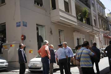 Έκρηξη μηχανισμού στο διαμέρισμα της κυρίας Λούκας Κατσέλη στο Κολωνάκι | tovima.gr