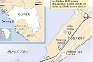 Δολοφονίες διαδηλωτώναπό τη στρατιωτική χούνταστη Γουινέα | tovima.gr
