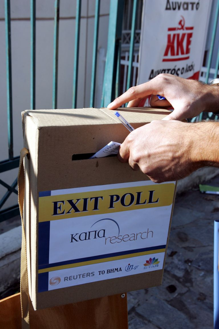 Εταιρείες δημοσκοπήσεων: Τα exit poll είναι εκτιμήσεις κατά προσέγγιση   tovima.gr