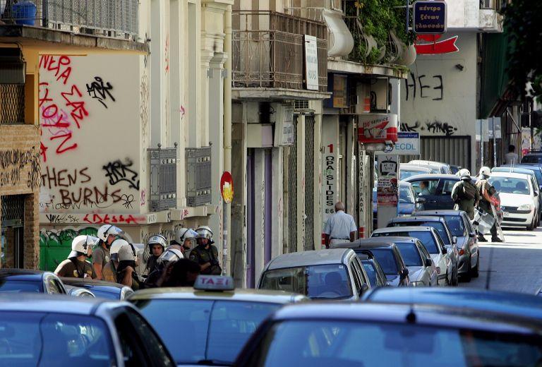 Η ΕΛ.ΑΣ εκκένωσε δύο υπό κατάληψη κτίρια του ΙΚΑ | tovima.gr