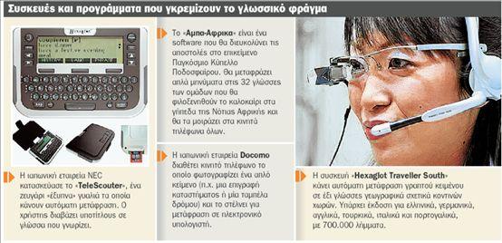 «Το κινητό μου μιλάει άπταιστα δέκα γλώσσες» | tovima.gr