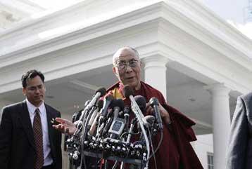 Περιπλέκει τις σινο-αμερικανικές σχέσεις η συνάντηση Ομπάμα με τον Δαλάι Λάμα | tovima.gr