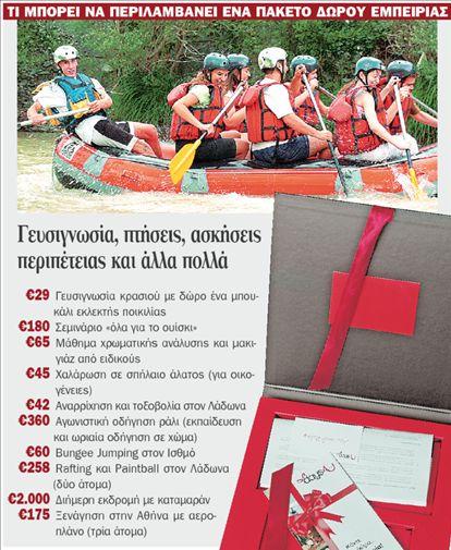 Οι τριαντάρηδες δωρίζουν εμπειρίες | tovima.gr