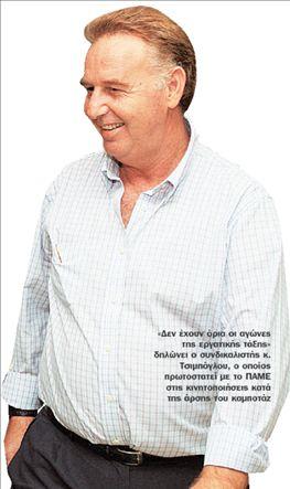 ΣΑΒΒΑΣ ΤΣΙΜΠΟΓΛΟΥ O «τσεκουράτος» με την ντουντούκα | tovima.gr