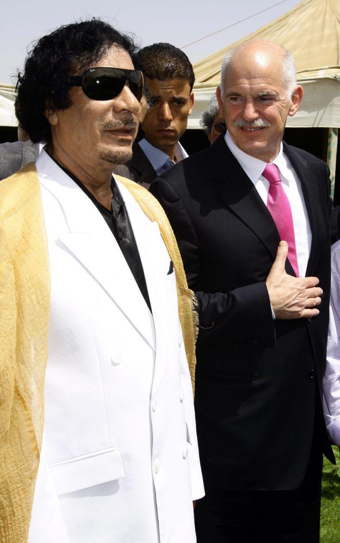 Επικοινωνία Παπανδρέου-Καντάφι | tovima.gr