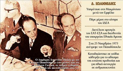 <b>Δημήτρης Ιωαννίδης</b> Το τέλος του «αόρατου δικτάτορα» | tovima.gr