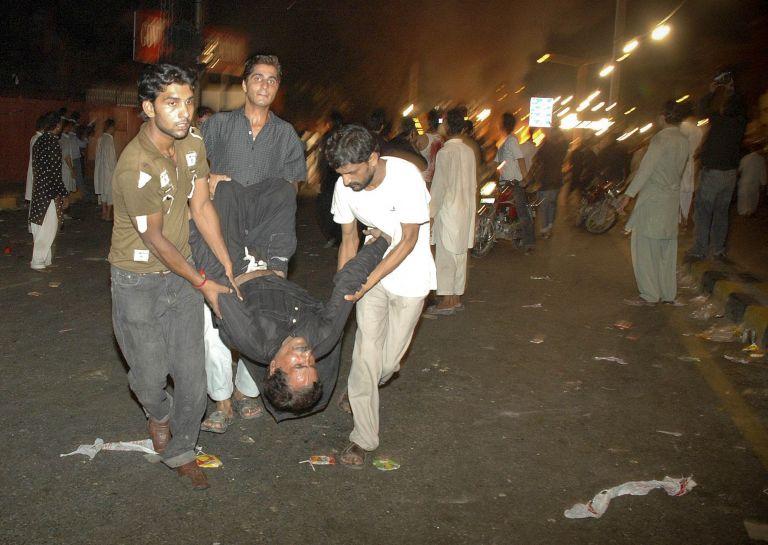 <b>Πακιστάν</b>Δεκαεπτά νεκροί από επίθεση αυτοκτονίας   tovima.gr