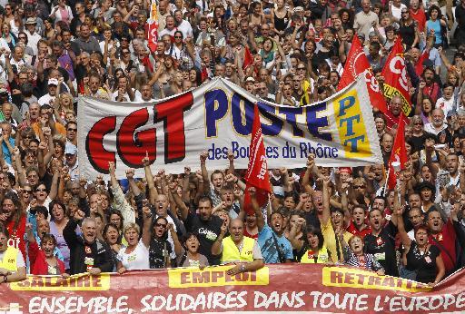 <b>Γαλλία </b>Απεργιακή κινητοποίηση τέστ για Σαρκοζί και μεταρρυθμίσεις σε συνταξιοδοτικό | tovima.gr