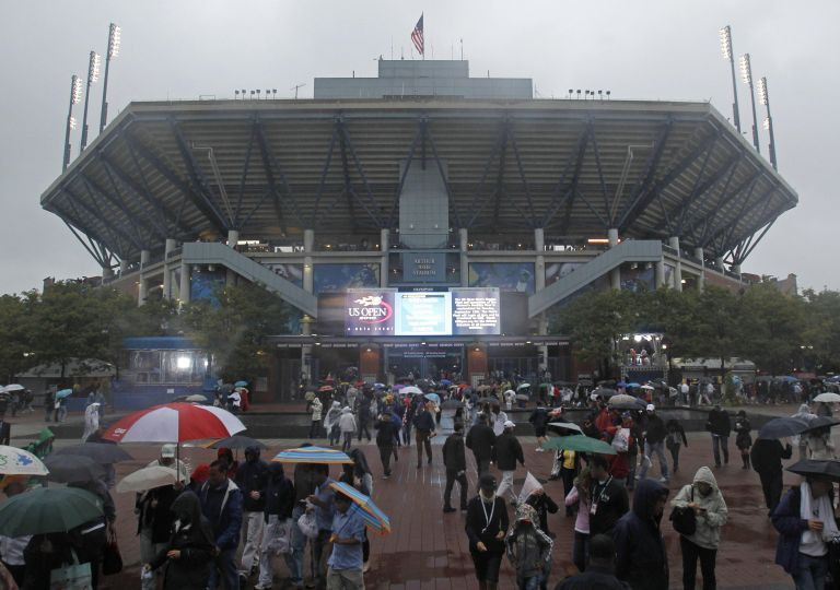 <b> US Open</b>Αναβλήθηκε ο τελικός τέννις μεταξύ Ναδάλ – Τζόκοβιτς, λόγω βροχής | tovima.gr