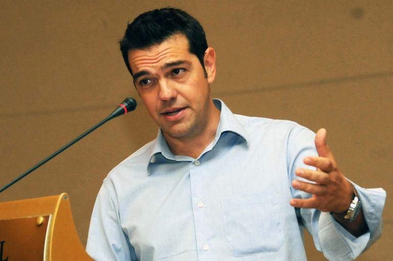<b>Αλέξης Τσίπρας</b> «Να βγούμε από τον κορσέ του Μνημονίου» | tovima.gr