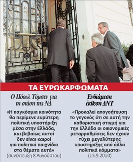 <b>Ευρωπαϊκό Λαϊκό Κόμμα</b> Προσέξτε, κ. Σαμαρά   tovima.gr