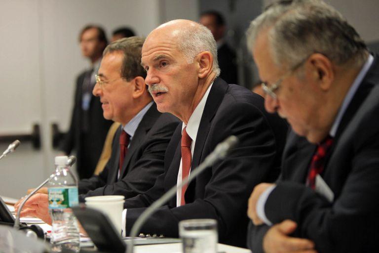 <b>Γ. Παπανδρέου </b> «Δεν αποτελεί λύση για την Ελλάδα η χρεοκοπία» δήλωσε σε οικονομικό φόρουμ στη Νέα Υόρκη | tovima.gr