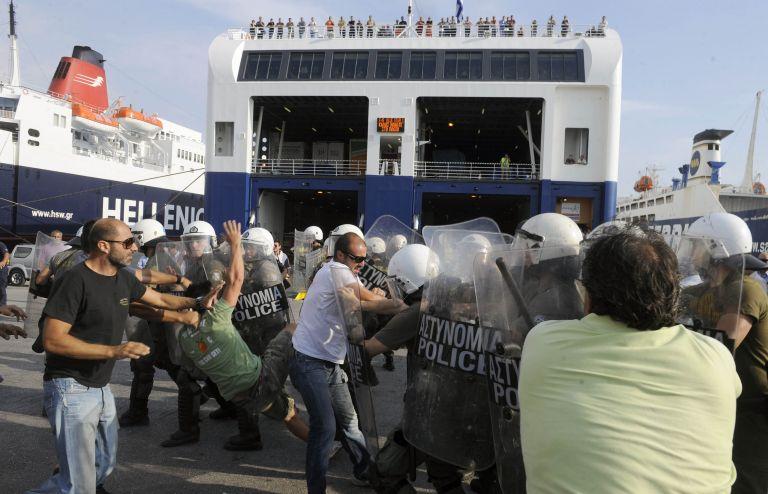 Τρίωρη στάση εργασίας των λιμενεργατών αύριο από τις 07.00 έως τις 10.00   tovima.gr