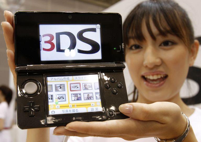 <b>Nintendo</b>Σε 3D η νέα φορητή κονσόλα 3DS   tovima.gr