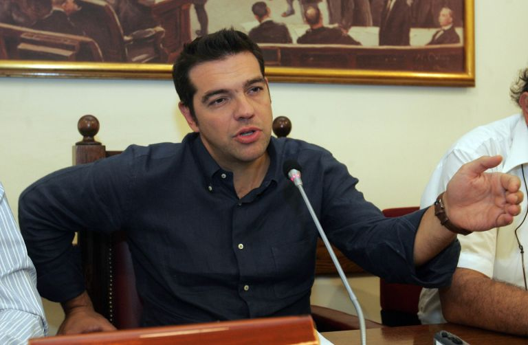 <b>Αλέξης Τσίπρας</b>«Κάνει έγκλημα που κατεβαίνει ο Αλαβάνος»   tovima.gr