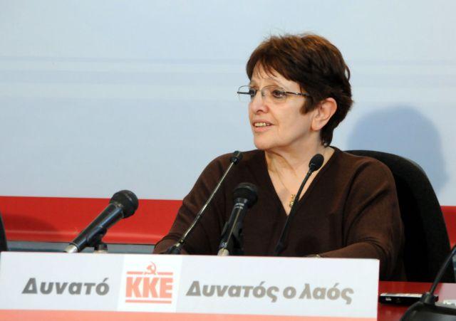ΚΚΕ : Κανένα μέτρο σε βάρος του λαού – Διαγραφή του χρέους   tovima.gr