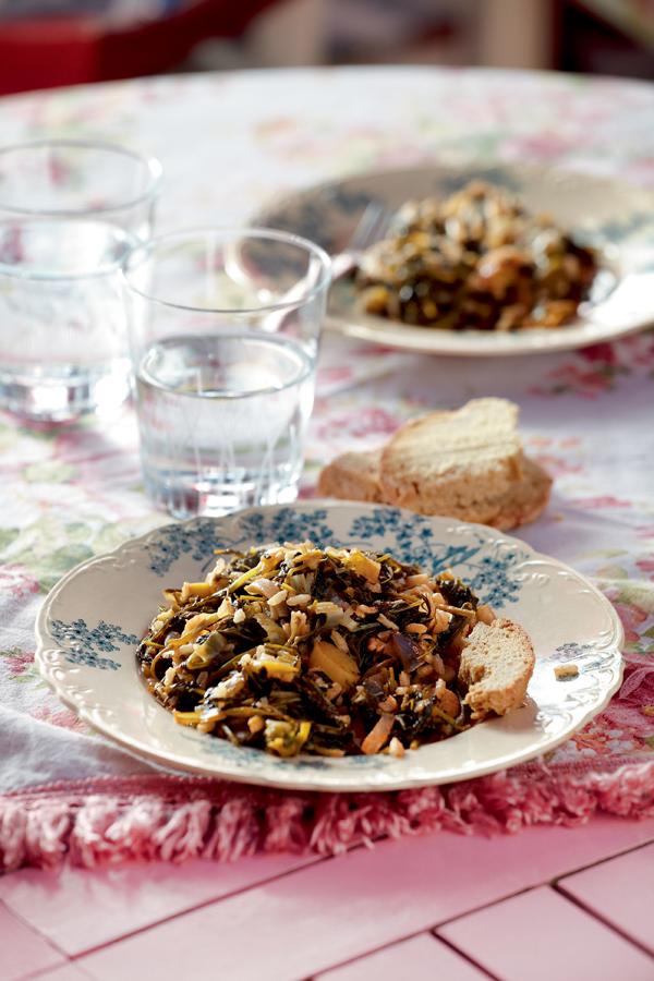 Ρύζι με αρωματικά χόρτα | tovima.gr