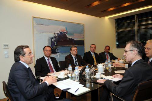 Αντ. Σαμαράς: Ορθή στρατηγική κίνηση η συμφωνία Αlpha Bank και Εurobank | tovima.gr