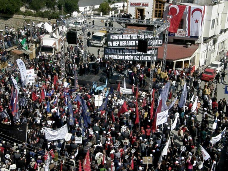 Φουντώνει η ένταση ανάμεσα σε Αγκυρα και Τουρκοκύπριους | tovima.gr