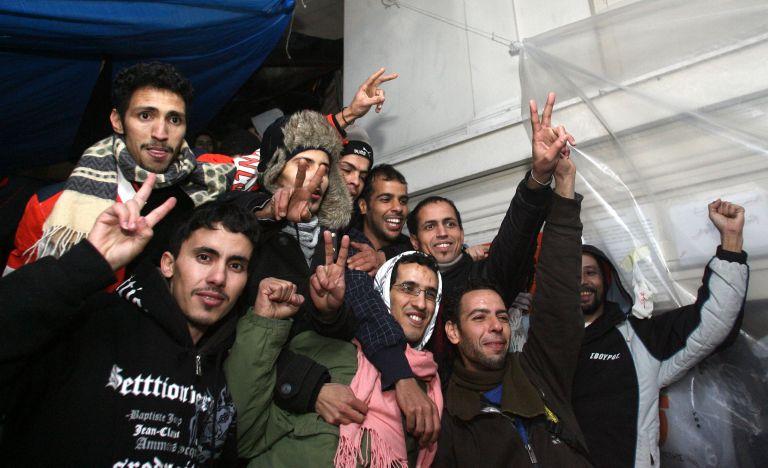 Αναχωρούν οι μετανάστες του Μεγάρου Υπατίας | tovima.gr
